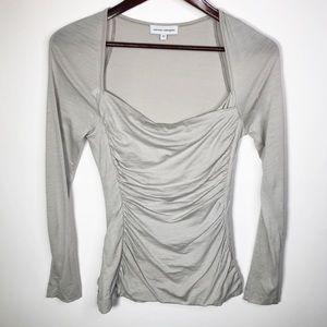 Narciso Rodriguez Virgin Wool Long Sleeve Top 42